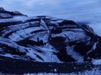 Cráter volcán Tungurahua