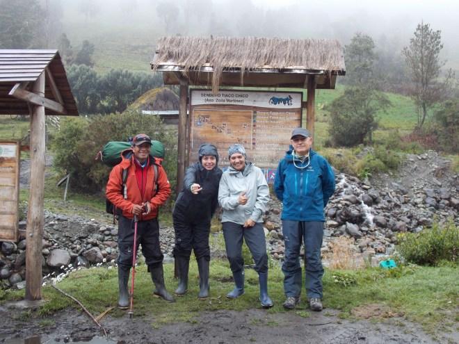 Christian, Eloy, Ingrid y yo