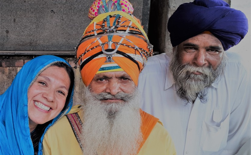 Amritsar, la espiritualidad a flor depiel