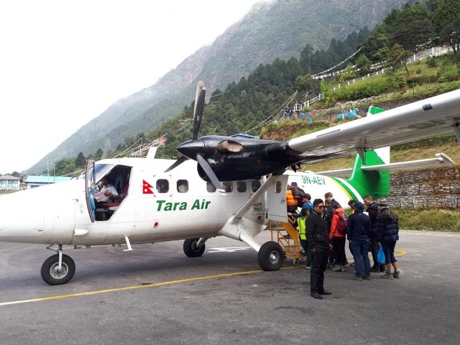 Aeropuerto en Lukla