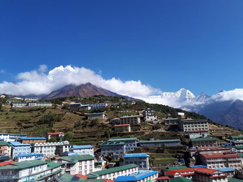 Trekking Everest Base Camp etapa 1 y2